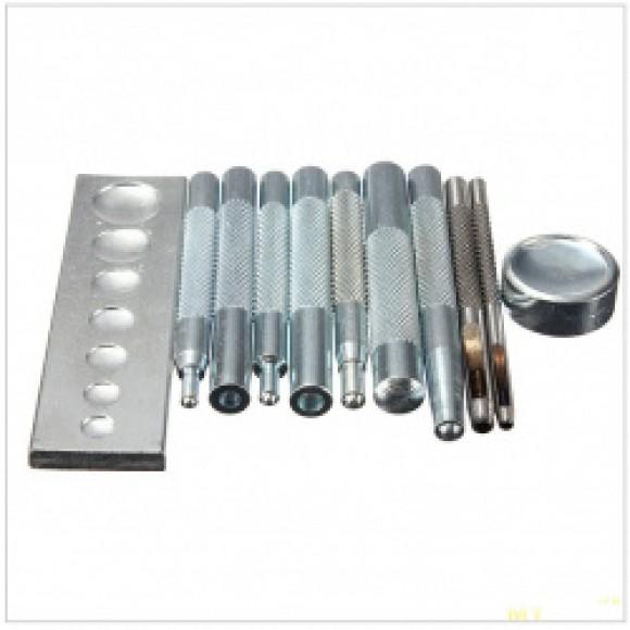 Инструменты для установки фурнитуры на одежду